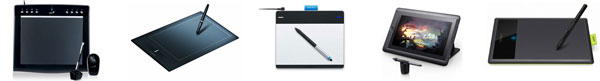 top 5 graphics drawing tablets