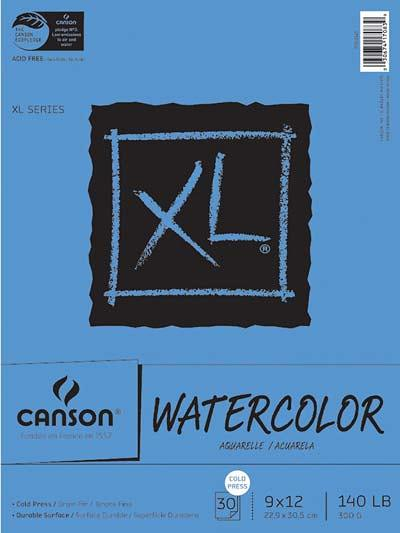 canson-water-color-paper-pad