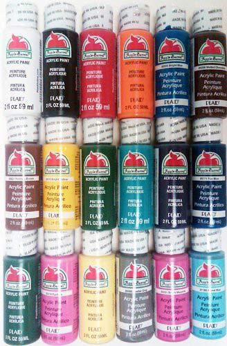 Plaid PROMOABI Apple Barrel Acrylic Paint