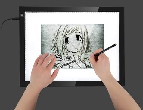 Choosing the best lightbox for drawing and tracing -