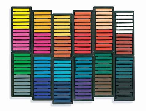 Sargent-Art-144-colored-square-chalk-pastels