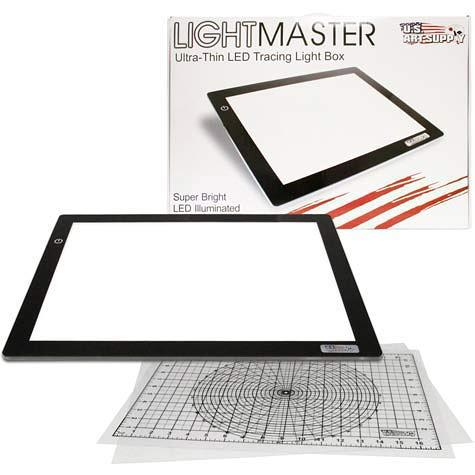 USA-ART-SUPPLY-Lightmaster light box tracer