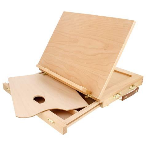 Solid Solana Adjustable Wood Desktop Easel