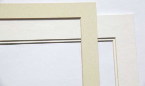 print mount mat single and double image