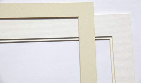 Make your own art prints double single picture mats
