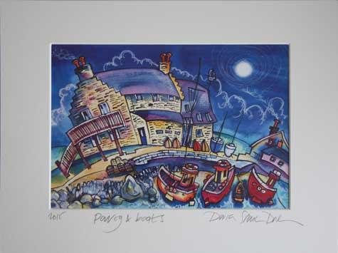 dorian spencer Davies artist Parog boats
