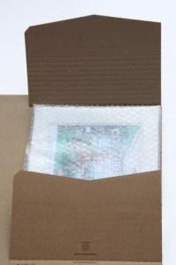 art work mailer box wraps