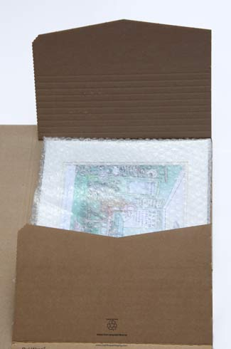 cardboard mailers for picture mat mount shipping image