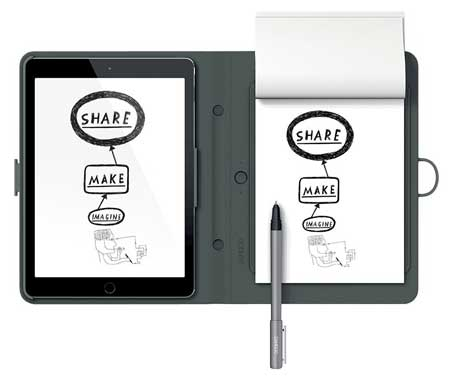 Wacom-Bamboo-Spark-with-Snap-Fit-for-iPad-Air-2-