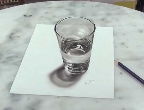 stefan pabst 3d glass drawing