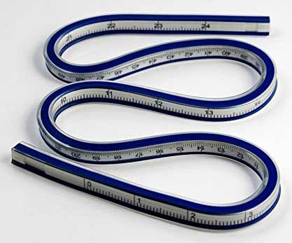 24-Inch-(60cm)-Flexible-Curve-Ruler-Flex-Design-Rule