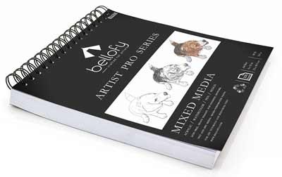 100 sheet sketch pads artist pro