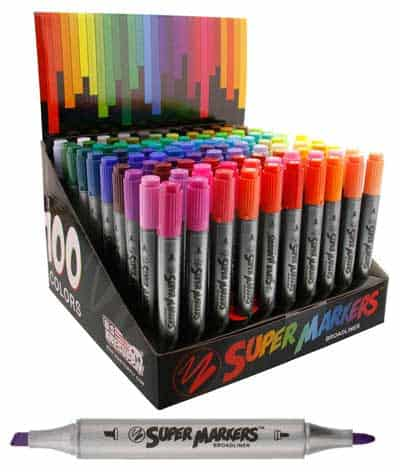 Best Markers For Coloring Double Tipped for precision