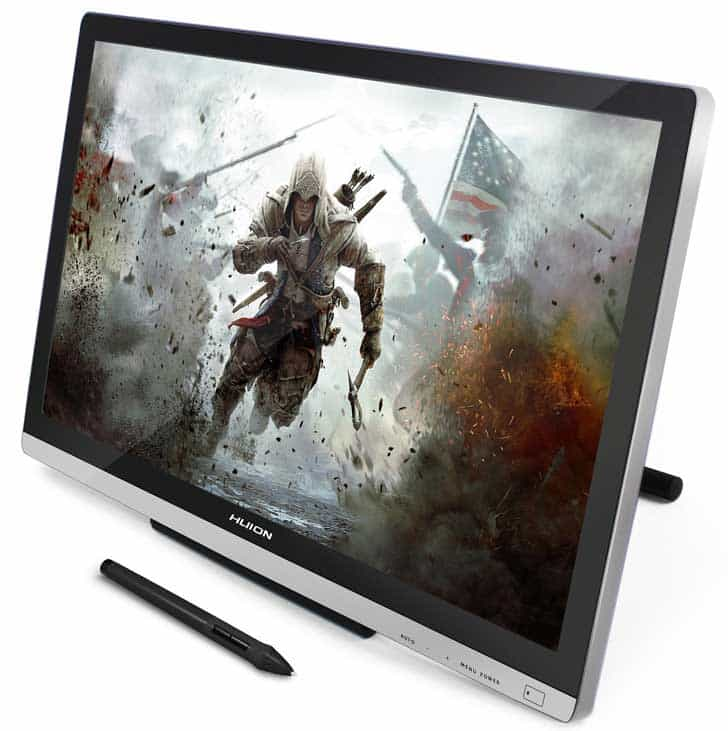 Huion GT-220 best desk top direct draw graphics tablet for the money
